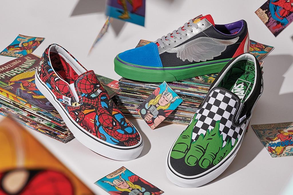 7560748321 Marvel - Vans Shop
