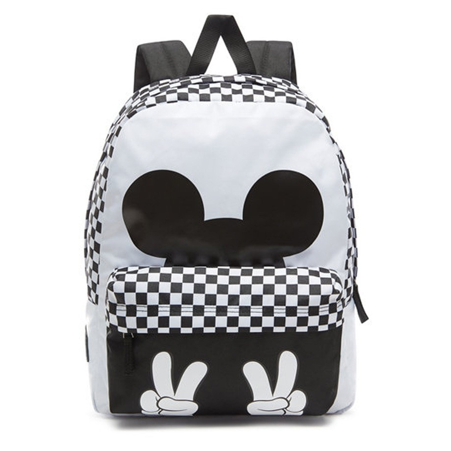 c61c1a3c8ed CHECKERBOARD MICKEY REALM BACKPACK - Vans Shop