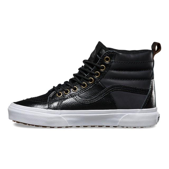 SK8-Hi 46 MTE ((Pebble Leather) black)