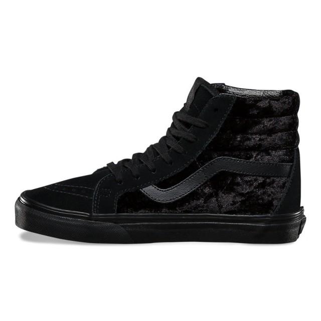 SK8-Hi Reissue Velvet (black/black)
