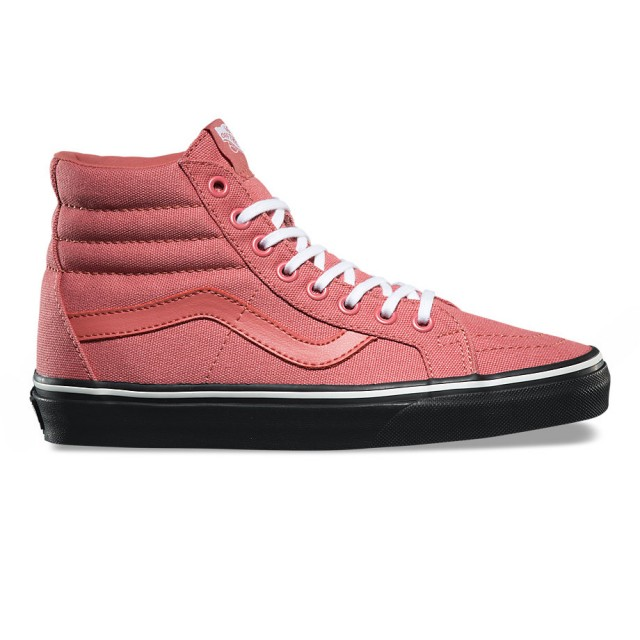 SK8-Hi Reissue (Black Outsole faded rose/black)