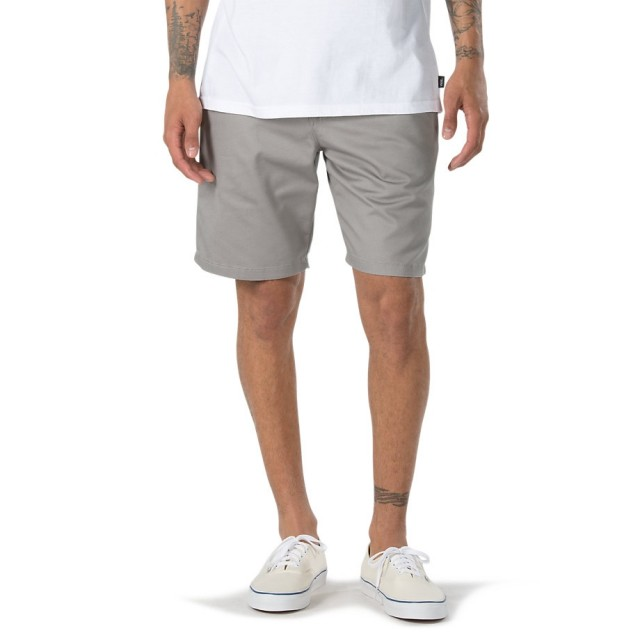 "AUTHENTIC STRETCH SHORT 20"" (FROST GREY)"