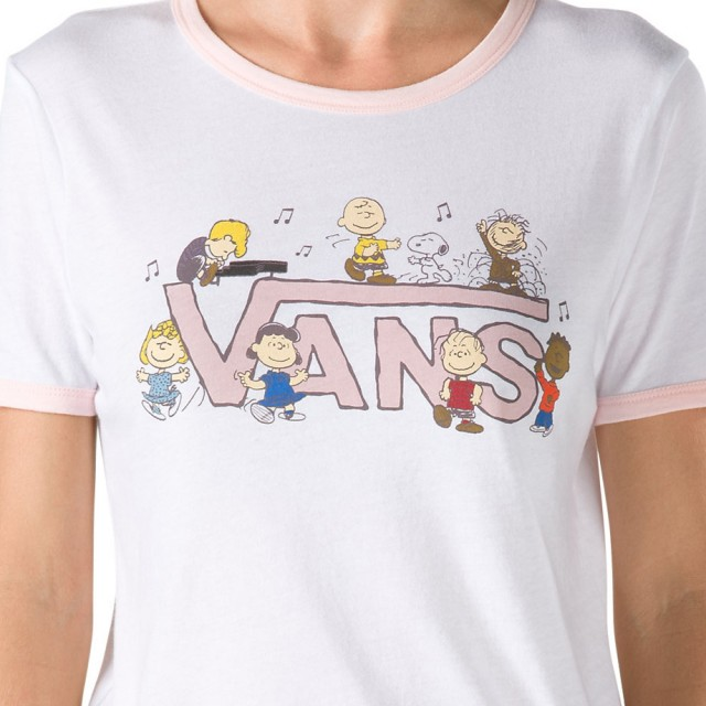 PEANUTS DANCE PARTY RINGER TEE