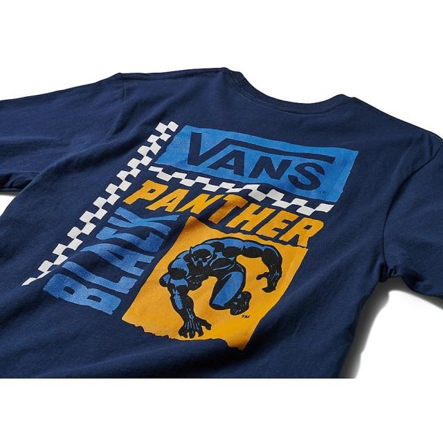 VANS X MARVEL BLACK PANTHER SS