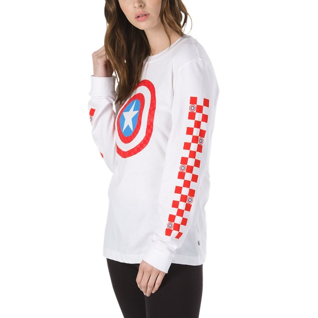 CAPTAIN SHIELDS LS BF TEE