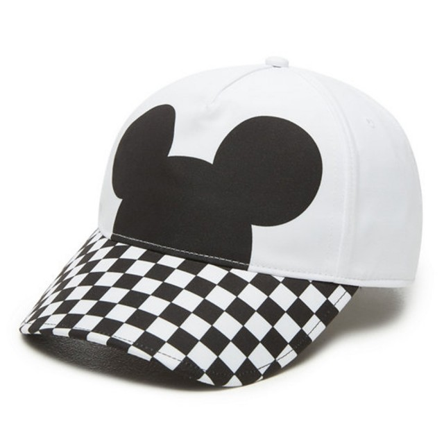CHECKERBOARD MICKEY COURT SIDE HAT