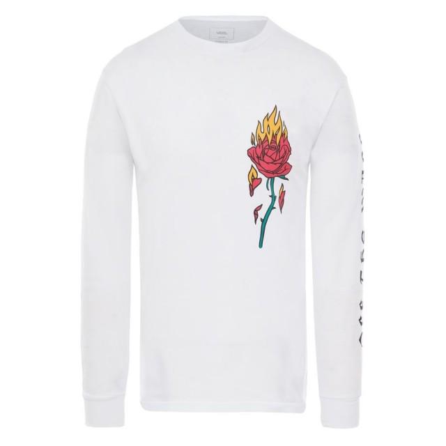 FLAMING ROSE LS