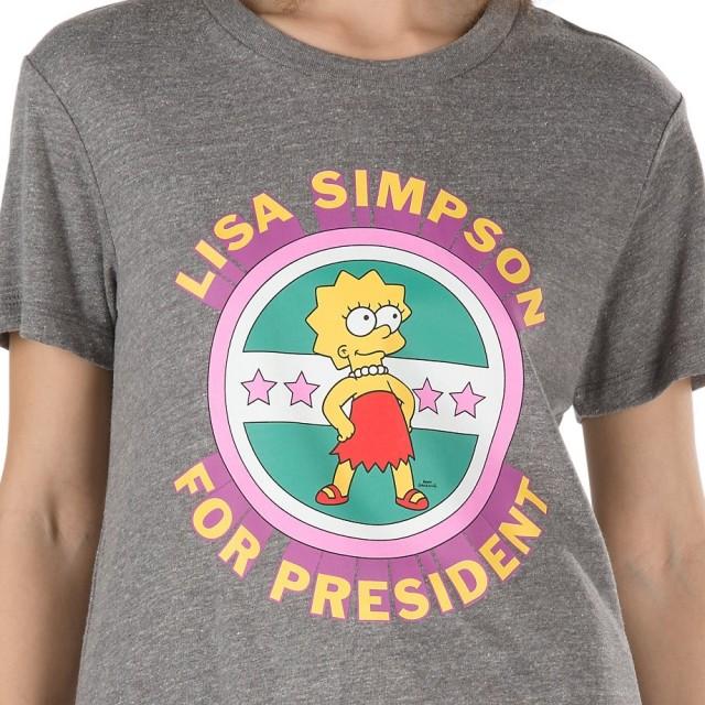 VANS X THE SIMPSONS LISA TEE