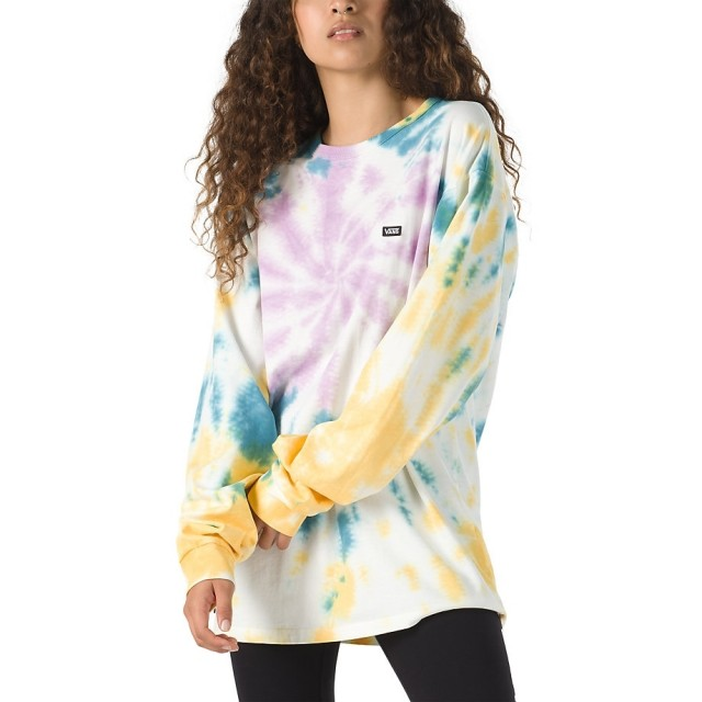 OFF THE WALL CLASSIC SPIRAL TIEDYE LS