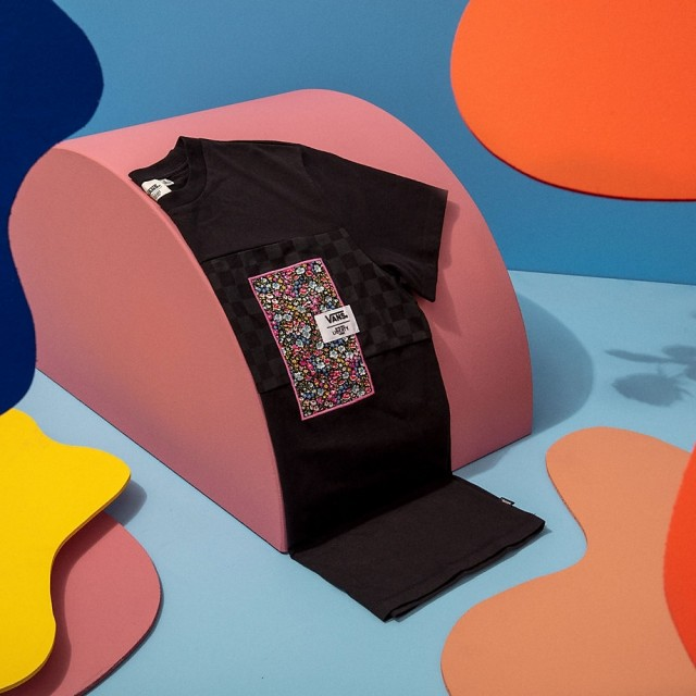 VANS MADE WITH LIBERTY FABRIC TEE