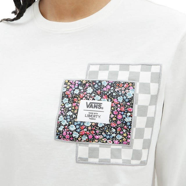 VANS MADE WITH LIBERTY FABRIC LS TEE