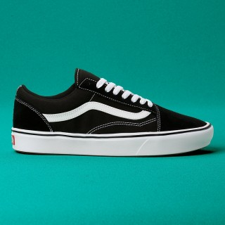 VANS ComfyCush Old Skool. (Classic) black true white 10ed226186
